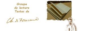 Lecture Charles de Foucauld