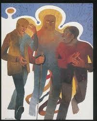 Arcabas, I discepoli di Emmaus